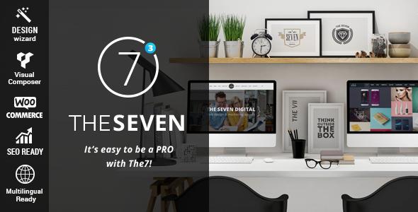 WordPress主题 The7.2 企业展示多功能深度汉化主题[更新至v4.0]